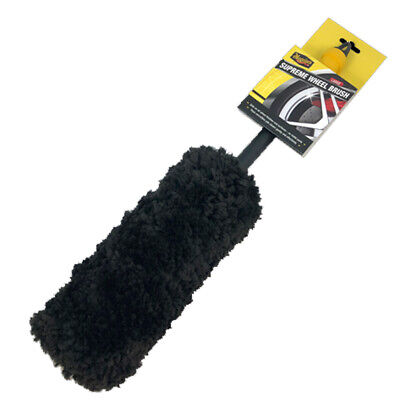Meguiars Supreme Large Super Soft Microfibre Wheel Cleaning Brush • 22£