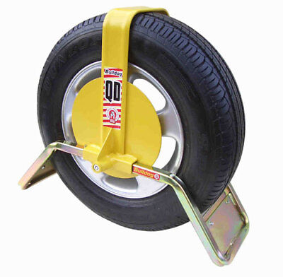 Bulldog QD22 Wheel Clamp To Fit Ifor Williams Trailers With 165R13 Wheels • 129.99£