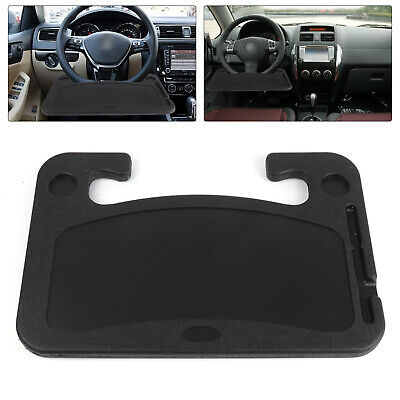 Steering Wheel Car Table Tray For Reading Writing Food Laptop Dining Holder • 12.99£