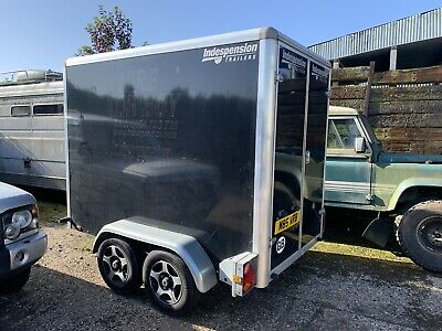 Indespension  Box Trailer Twin Axle • 2,500£