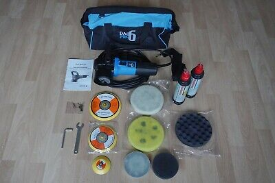 DAS6 Pro Dual Action Orbital Polisher With Pads And Extras • 82£