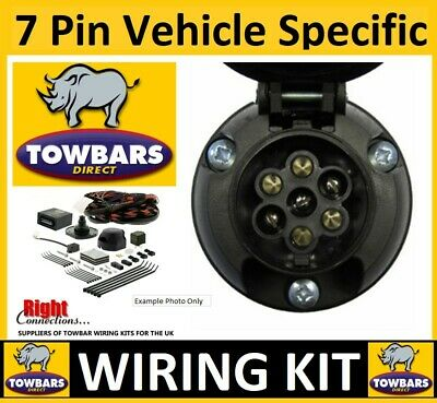 7 Pin Towbar Wiring Electrics For Vauxhall Movano Chassis Cab '03to'10 With PREP • 35£