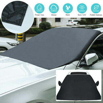 Car Magnetic Windscreen Snow Cover Protector Dust Ice Frost Sun Shade Van Large • 9.79£