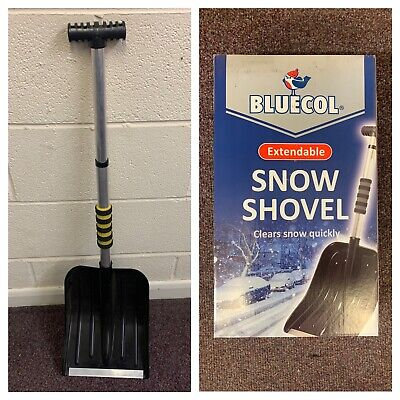 12 X Bluecol Extendable Snow Shovels (Job Lot) • 60£