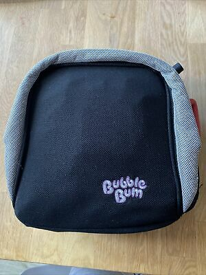 Used BUBBLE BUM Inflantable Travel Booster Seat For Kids 15-36 Kg • 10£