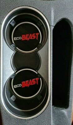 Set Of 2 Cup Holders Ecoboost Ecobeast For  Ford Fiesta Stline S ZS Mk 7.5 BAR • 6.25£