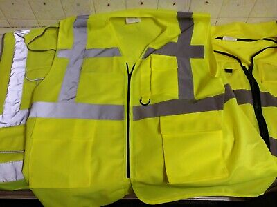 Yellow High Visibility Vests 3 Pack • 9.99£