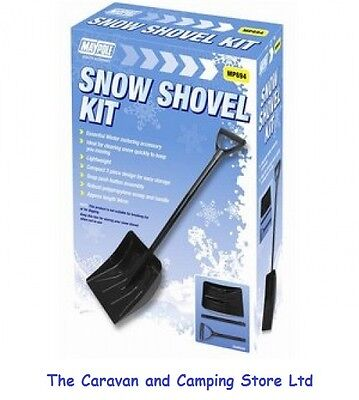SNOW SHOVEL - COMPACT 3 PIECE DESIGN  - 94cm Assembled • 7.95£