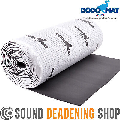 Dodo Mat Super Liner 6m Roll Car Van Insulation Sound Proofing 6mm 1/4  Foam • 39.99£