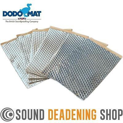 Sound Deadening Dodo Dead Mat Hex ® 6 Sheets 6sq.ft Car Vibration Proofing • 9.99£