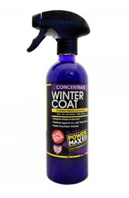 Power Maxed Winter Coat Sealant Paint Protection Concentrate 500ml • 12.49£