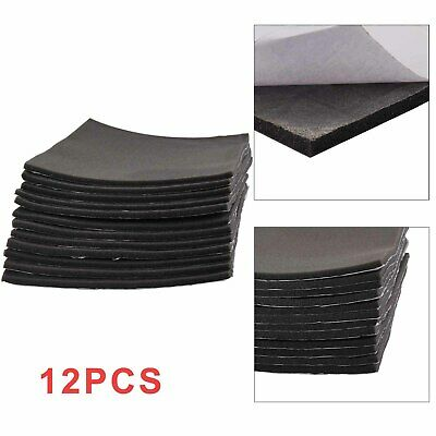 12 Sheets   Foam Car Sound Proofing Deadening Van Boat Insulation UK  Paste • 14.99£