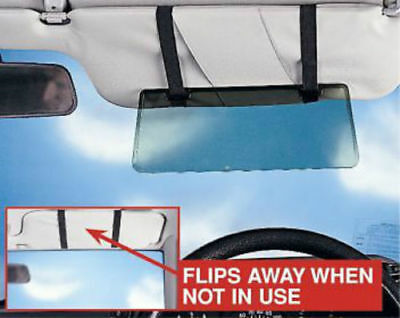 2X Sun Visor Extension Shade Tinted Anti Dazzle Glare Reducer Ideal For Low Sun • 8.99£