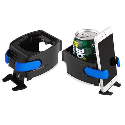 Smart Car Drink Holder Bottle Cup Water Air Vent Phone Mount 2 In 1 Universal UK • 5.69£
