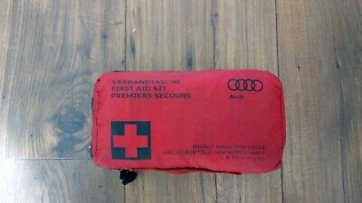 GENUINE Audi Emergency First Aid Kit With Storage Small Bag • 8£