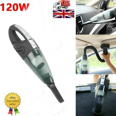 Cordless Wet & Dry Car Vacuum Cleaner Powerful Handheld Rechargeable Home Hair • 11.59£
