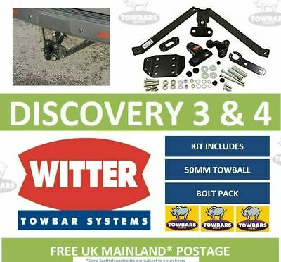 Witter Towbar To Fit Land Rover Discovery 3 & Discovery 4 2004 To 2017 R39A 3500 • 199.50£