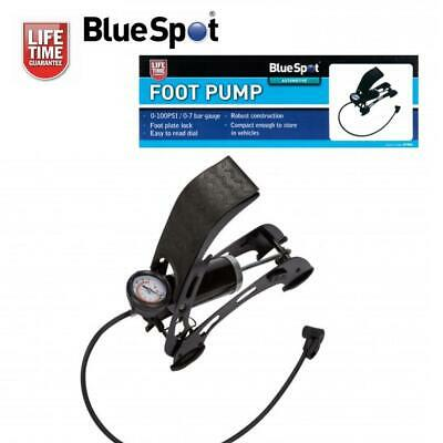 Clearance Lot07954 Compact Robust Foot Air Pump For Cars Bikes Mobility Scooters • 10.45£