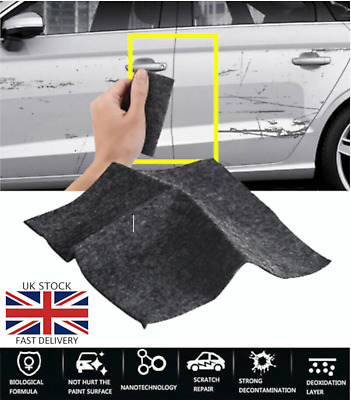 Nano Magic Car Scratch Remover Cloth Scratch Eraser Surface Repair Scuffs Polish • 2.75£