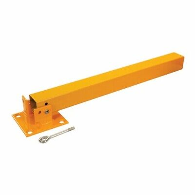 Fold Down Parking Security Post 560 X 120mm Folding For Round Lock Padlock • 17.99£