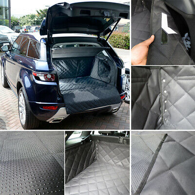 Car SUV Pet Dog Quilted Boot Liner Mat Oxford Cover Bumper Protector HEAVY DUTY • 22.49£