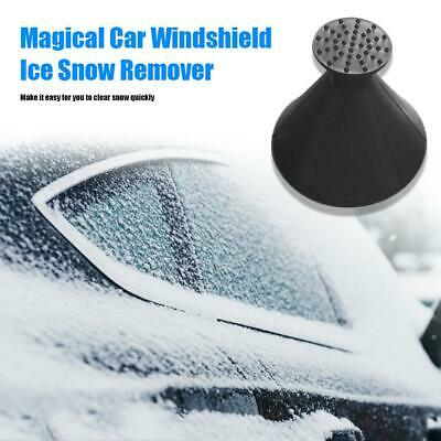 Magical Snow Remover Ice Scraper Car Windshield Scrapper Funnel Shaped Squeegees • 4.13£