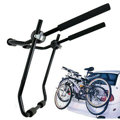 NEW Universal 2 Bicycle Car Cycle Carrier Rear Mounted Bike Rack Hatchback UK • 14.59£