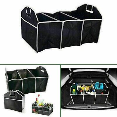 Car Auto Boot Trunk Organizer Collapsible Folding Caddy Storage Bin Bag • 4.99£