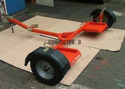 Towing Dolly Collapsible Fits In Car Boot, Plans To Build Your Own.car Recovery • 10£
