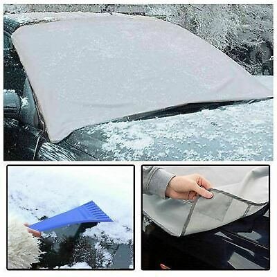 Magnetic Car Windscreen Cover Ice Frost Shield Snow Dust Protector Sun Shade New • 3.49£