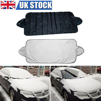 Car Auto Front Windshield Protector Cover Sun Shade Prevent Snow Frost Ice Dust • 4.29£