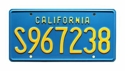 Celebrity Machines The A-Team | S967238 | Metal Stamped License Plate • 22.91£