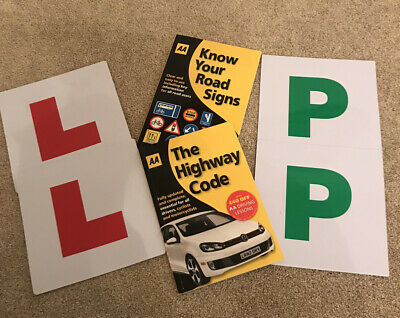 Driving Books / L & P Magnetic Plates • 2.50£