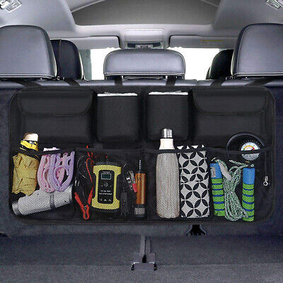 Car Boot Organiser Tidy Back Seat Storage Bag Hanging Pocket Accessories Large  • 7.99£