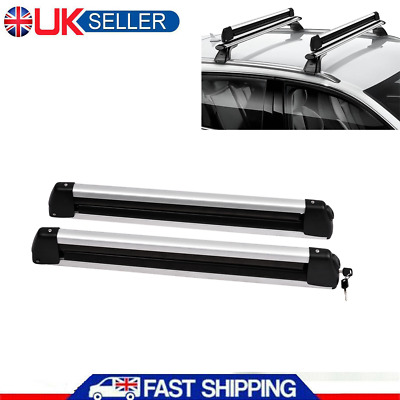 30  Universal Roof Mount Snowboard Car Rack Fits 4 Snowboards, Ski Roof Carrier • 50.46£