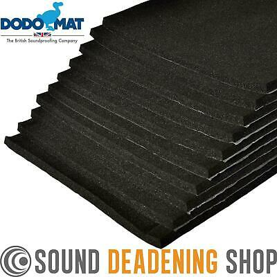 Sound Proofing Insulation Foam 12mm Dodo Super Liner 10 Sheets Car Van Deadening • 29.99£