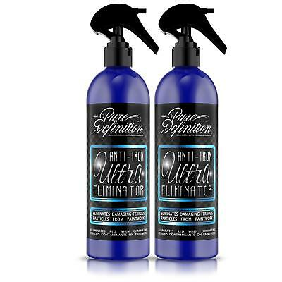 Iron Fallout Remover X 2 Car Wheel Cleaner Brake Paintwork Fall Out PH Neutral • 10.16£