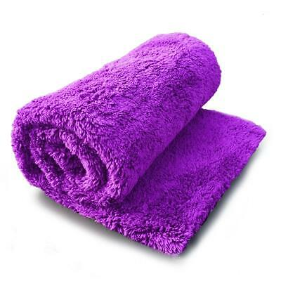Edgeless Microfibre Towel Car Microfiber Cloth Polishing Drying Pure Definition • 4.21£