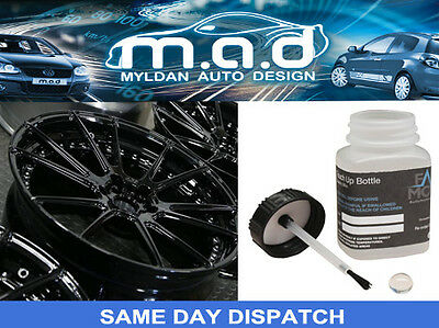 Satin Black Touch Up Kit For Alloy Wheel And Bodywork Repair Kit Paint • 6.95£