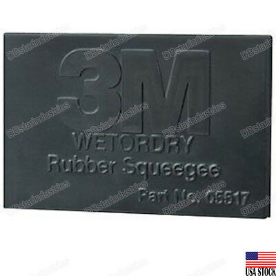 3M-05517 Wetordry™ Rubber Squeegee 05517  (1 Pack) • 4.04£