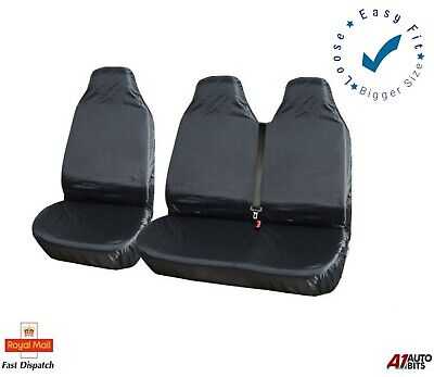 2+1 Heavy Duty Waterproof Front Seat Covers For Ford Transit Transit Custom Van • 14.99£
