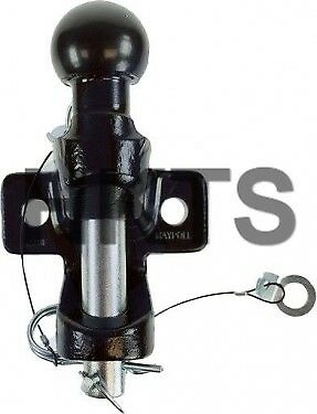 Ball And Pin Hitch, Clevis, 50mm Tow Ball, Bar, EU Approved, Maypole, 3500kg • 34.99£