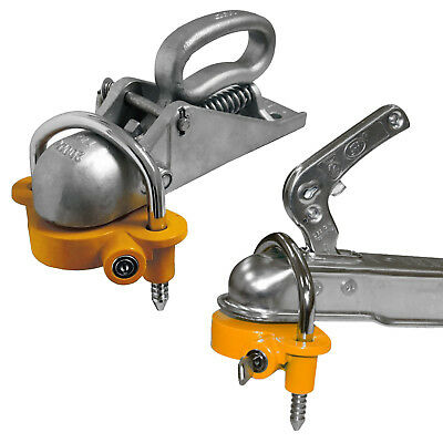 Hitchlock For Security Locking Caravan Or Trailer Ball Hitch Couplings • 19.99£