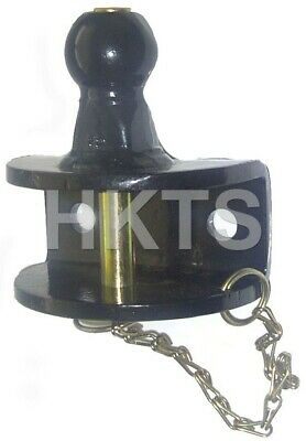 Ball & Pin Hitch, Clevis, 50mm Tow Ball, Tow Bar, Dual Purpose, 1500kg Capacity • 34.99£