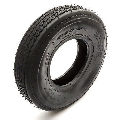 Trailer Tyre 4.80/4.00-8 4 Ply Road Legal Fits 8'' Rims Max 265kg Rated 81mph • 20.99£