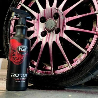 K2 Roton Pro 1l Blood Alloy Wheel Car Paint Cleaner Iron Remover Contaminant • 11.85£