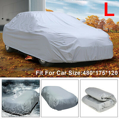 New Full Size Large Car Cover UV Protection Waterproof Breathable Universal L • 9.99£