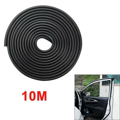10m Car Door Boot Edge Protectors Trim U Shape Guard Seal Rubber Strip Black Set • 6.49£