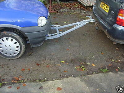 1.8t Single Person Solo Use  Car Recovery A Frame Towing Dolly Trailer Aframe • 310£
