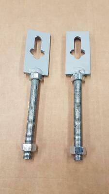 2.5ton Aframe Replacement Threaded Tensioner Pair • 40£